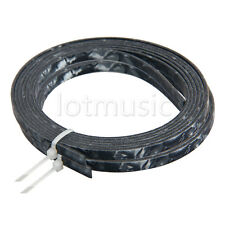 2pcs Black Pearl Celluloid Guitar Binding Purfling Strip 5Feet 4mmx1.5mm