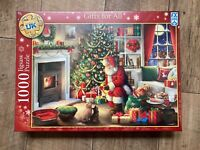 "Brand New Schmid ""Gifts for All"" 1000 Piece Festive Jigsaw Puzzle"