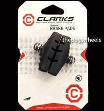 Clarks ROAD RACING Bicicletta Freni Pinza Freno Rim pastiglie dei freni 50mm