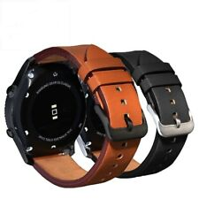 Watch Band For Samsung Gear S3 Classic Frontier Leather Smartwatch Bracelet 22mm