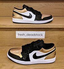 Nike Air Jordan 1 Low Gold Toe - DEADSTOCK - Size 10.5