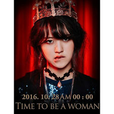 NC.A-[TIME TO BE A WOMAN] 1st Album CD+POSTER+Photo Book K-POP Sealed