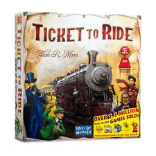 Ticket To Ride Cross-Country Family Train Adventure Board Game Free shipping NEW