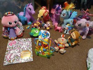 Toy Bundle, My Little Pony, Winnie The Pooh, Singing Alfie, Leap