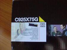 GENUINE LEXMARK YELLOW IMAGING UNIT C925X75G C925 X925 FACTORY SEALED