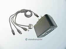 USB Cable AC Charger For/iPad 3 2 iPod iPhone 5 5S 5C 4 4S 4G 3GS 3G Mini i Pad