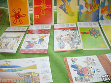 China 2002 year of Horse pre stamped postcards lottery cards mint 12 cards