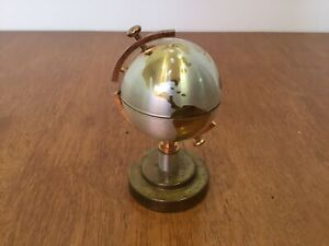 Unbranded Vintage Brass Globe Lighter 10cm Height #459