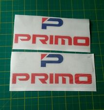 """2x 6"""" wide primo bumper wing stickers decals jdm performance honda civic kanjo"""