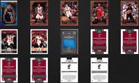 Miami Heat 7 Cards Lot 2017-18 Bam Adebayo Rookie Card Goran Dragic Whiteside 🔥