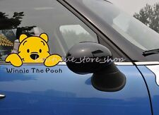 Funny watching Winnie the Pooh cartoon vehicle random car stickers wall decals