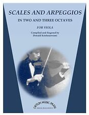Scales and Arpeggios for Viola  - by Donald Krishnaswami