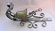 cloche de portail en bronze