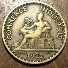 PIECE DE 1 FRANC 1922 COMMERCE (248)