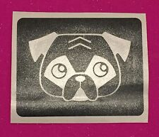20x Glitter Tattoo Stencils Pug Dog Party Bag Treat