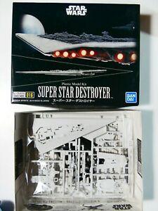 Bandai Star Wars Vehicle Model 016 Super Star Destroyer Plastic Model from Japan