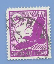 Germany Third Reich Nazi 1934 Nazi Swastika Eagle Luftpost 40 Stamp  WW2 ERA #5
