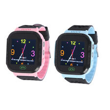 Q528 Kids GPS AGPS LBS Location Tracker Smart Watch SOS Call w/Flashlight R1BO