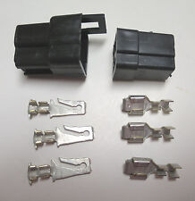 NORS 1966-1969 Mopar 3 Cavity Connector & Terminals Dodge Plymouth Charger GTX
