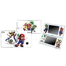 New SUPER MARIO 7 Vinyl Decal Sticker Skin Cover Case Fit For Nintendo DSI NDSI
