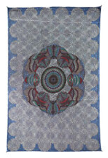 LOVE LOTUS SKY SPECIAL EDITION OPTICAL ILLUSION TAPESTRY-WALLHANGING-60x90