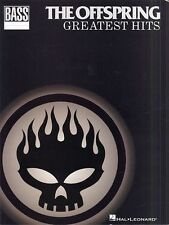 The Offspring Greatest Hits Bass Guitar TAB Learn to Play Pop Music Book