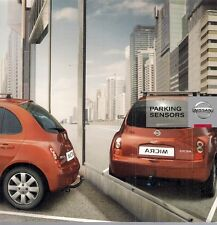 Nissan Accessory Parking Sensors 2008-09 UK Market Sales Brochure Micra Qashqai