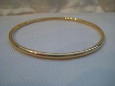 Gold slave bangle solid yellow 9 carat 16.3g