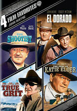 4 Film Favorites: John Wayne (The Searchers, The Shootist, El Dorado, The Sons