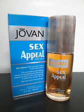 jovan SEX APPEAL for men cologne  spray 3.0OZ/88ML for men new in box NEVER USED