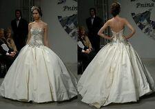 Bling custom made Pnina Tornai inspired  John Roberts Jody Dress.