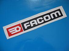 FACOM racing sticker/decal x2