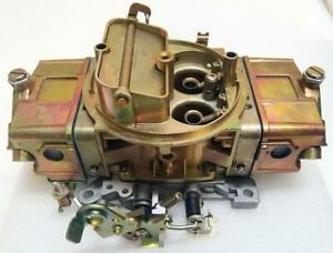 750 Carb Holley Style 750HP 4 Barrel Double Pump Pumper Carburetor Manual Choke