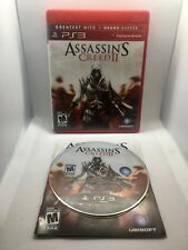 Assassin's Creed II 2 - Greatest Hits - Complete CIB - Playstation 3 PS3