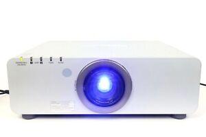Panasonic PT-DW6300US DLP Projector 6000 Lumens ,Run Time 3302h  Lamp Hours 1478