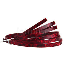 Red Pearl Acoustic Guitar Binding Purfling Strip 1650x4mmx1.5mm Celluloid Parts