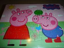 Brand New Jigsaw Peppa Pig and George Pig Puzzles 40 pcs