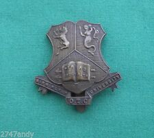 The Birmingham University OTC - 100% GENUINE British Military Army Cap Badge