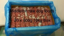 More details for frozen dog food chicken mince 20 x 500g bags 10kg box .barf raw diet delivered