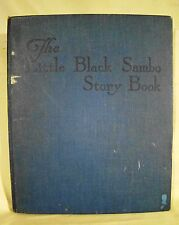 Bannerman. The Little Black Sambo Story Book. c.1930 Color Illustrated