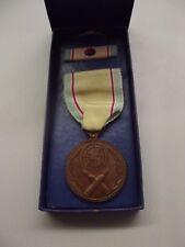 ^ Orden Korea WAR Service Medal Koreakrieg Original in der Schachtel