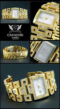 Exclusive & Luxury Design Ladies Cavadini Watch Mother of Pearl Dial