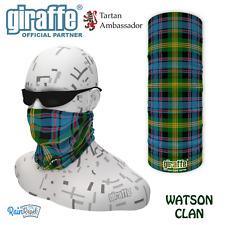 Watson Clan Scottish Tartan Multifunctional Headwear Bandana tube