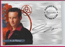 CHARMED Autograph Card A9 Julian McMahon as Cole Turner Auto signed