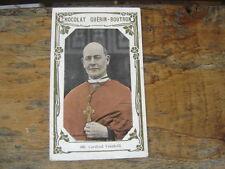 Chromos Decoupis CHOCOLAT GUERIN BOUTRON Cardinal Vanutelli 406