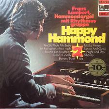"FRANZ LAMBERT ""HAPPY HAMMOND 2""- Fontana Spezial- Vinyl LP F2"