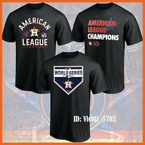HOT - Houston Astros 2021 American League Champions Locker Room T-Shirt All Size