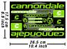 Cannondale Stickers Fahrrad Grafik Autocollant Aufkleber Adesivi # 3 /593