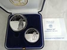 Israel 1999 Biblical Art Series Stars Over Holy Land-Abraham PR+BU Silver Coins