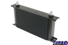 SPORT OIL COOLER RADIATORE OLIO CN-OC-003 AN8 BLACK 260x150x50
